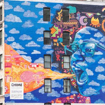 The Cut, Gucci / Soho Mural