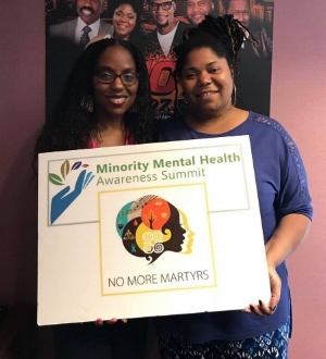 Dr. Nadia Richardson (Founder, No More Martyrs) - Tasha Simone (Hot 107.7 - Birmingham)