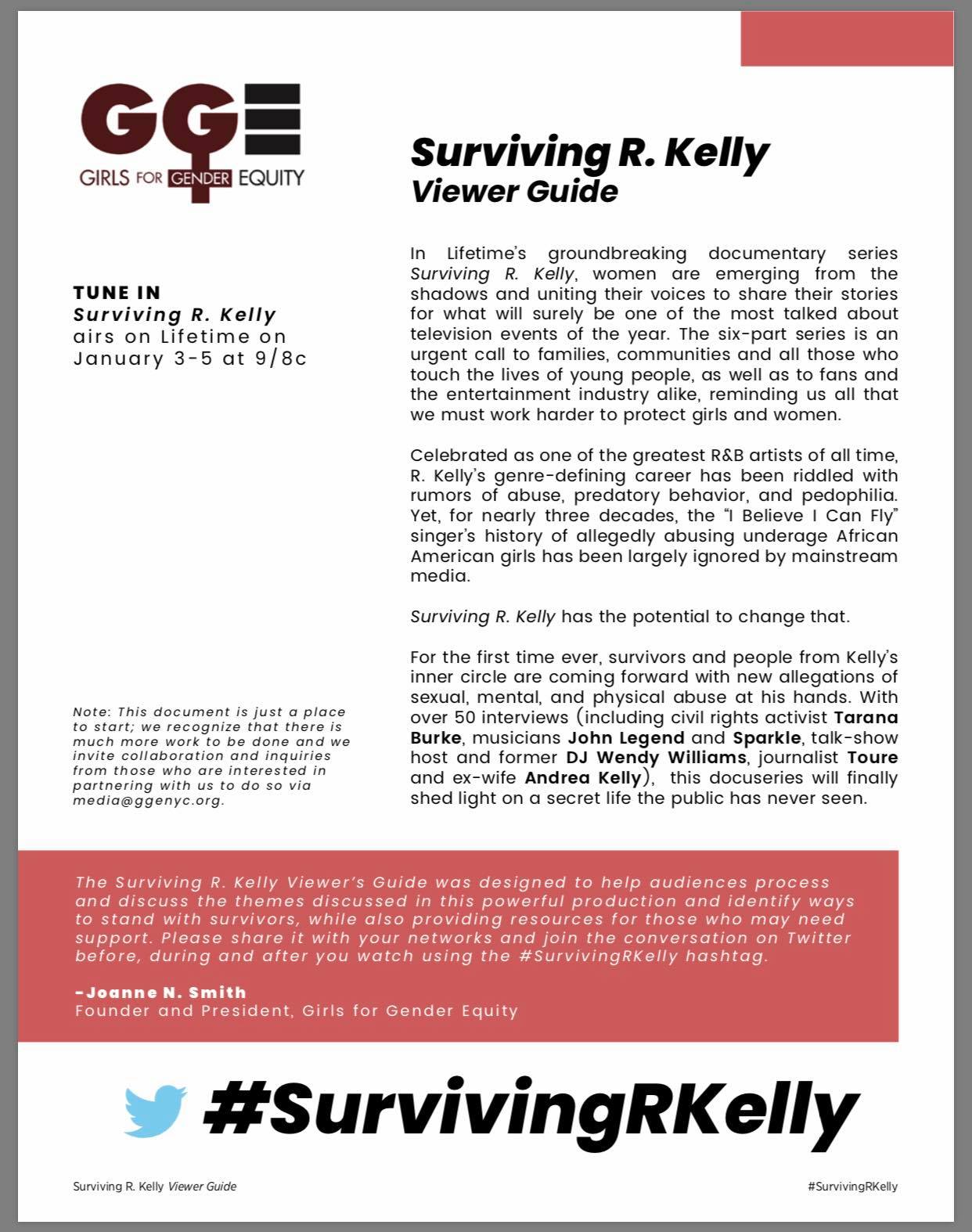 - Surviving R. Kelly - Viewer Guidewww.ggenyc.org/survivingrkelly
