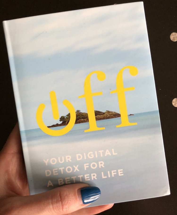 This mini book is a great read and will give you tips to ween off of your digital addiction.