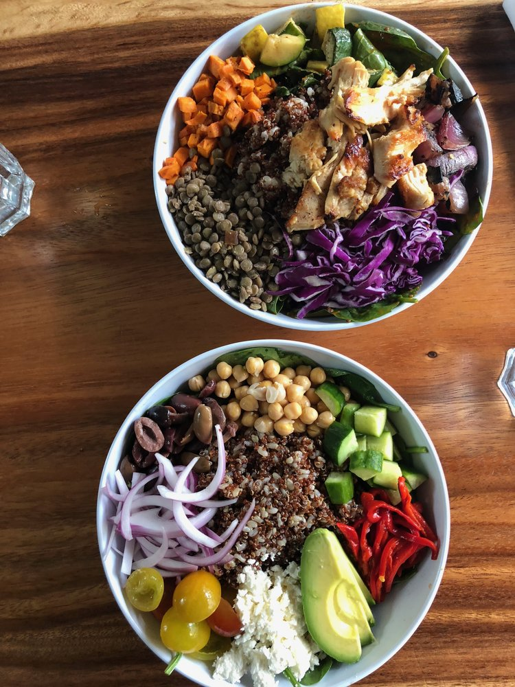 EPIC salad bowls at Harvest by the Patio.