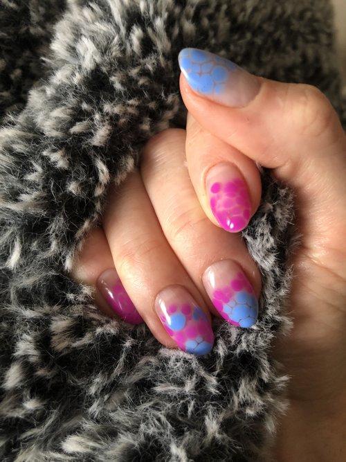 My nail glamour shots!