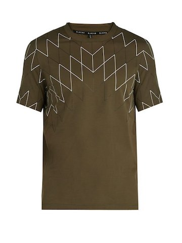 ブラックバレット by ニールバレット  ジオメトリック Tシャツ   Photo: matchesfashion