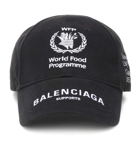 World Food Programme・ロゴ刺繍・キャップ      Photo: matchesfashion