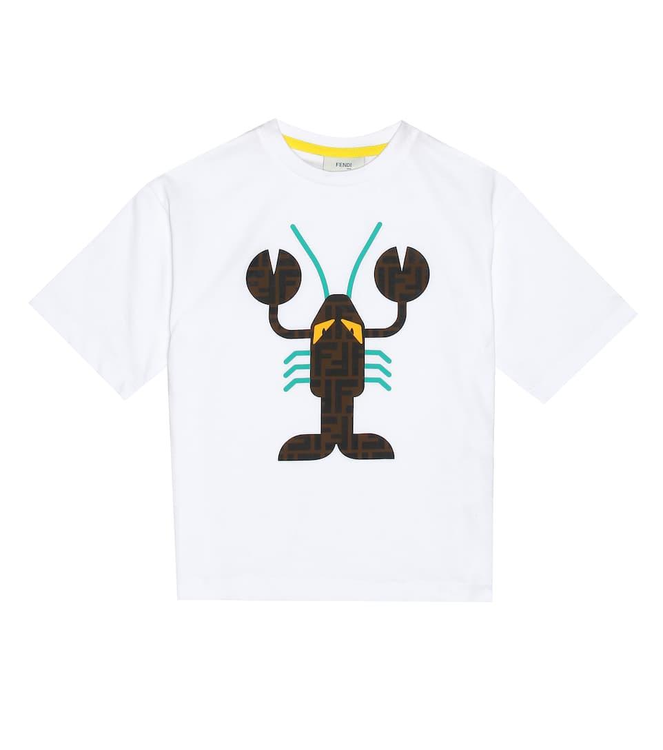 FF・  ロブスター  アップリケ Tシャツ  ( ¥ 22,000 )  Photo: mytheresa