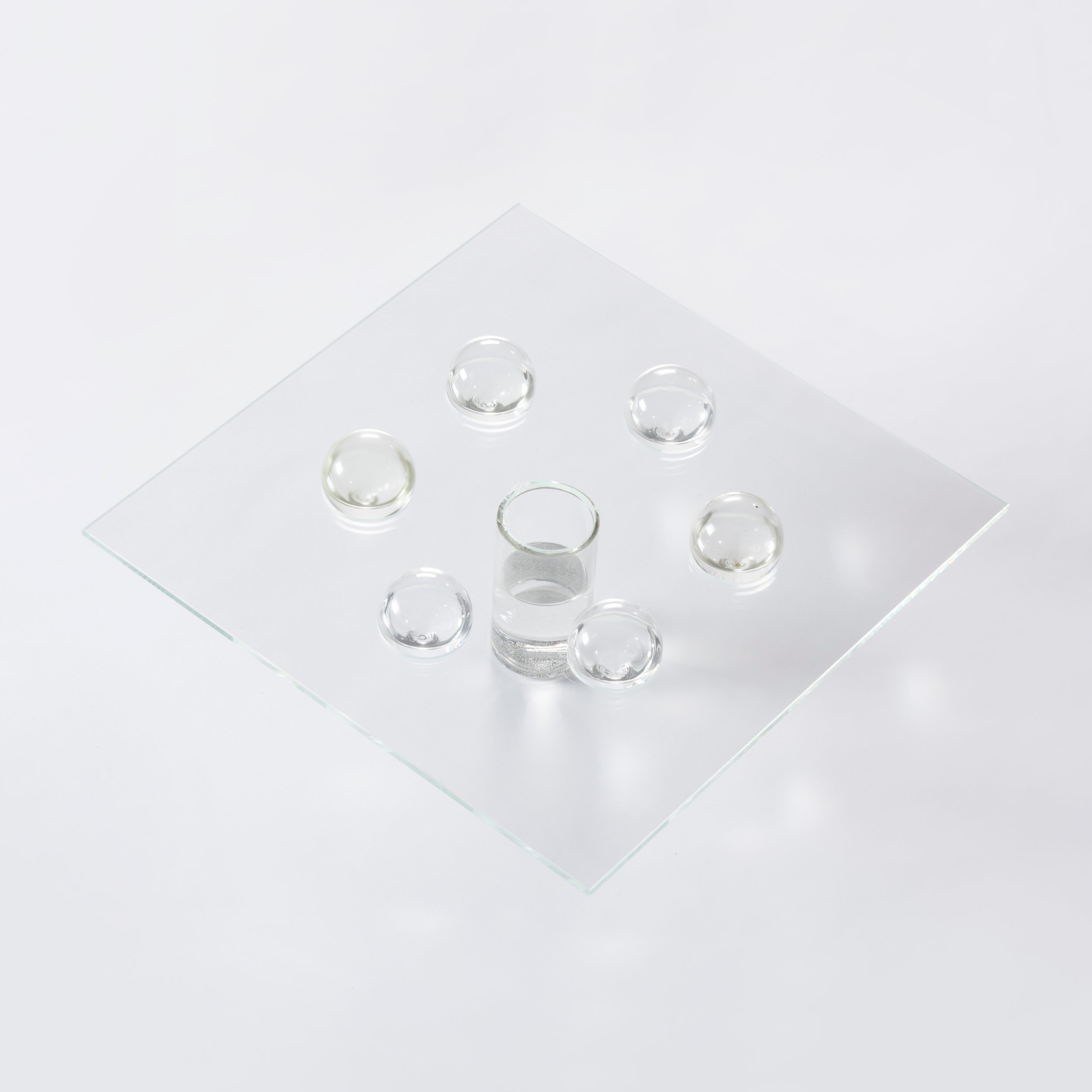 sculptural collection of water