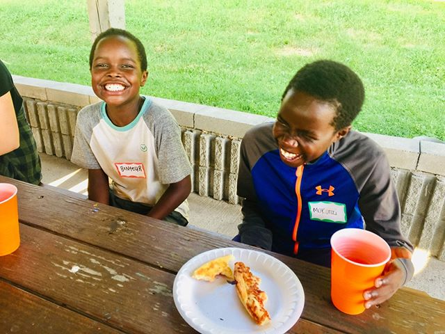 It was all smiles at Foundations last night! Thank you to Bonteur, Mukunzi, and the other great attendees for joining us. These sweet souls bless our hearts and communities more than they'll ever realize! #loveyourneighbor #carpenterssquare #foundations #nashvilletn #allsmiles