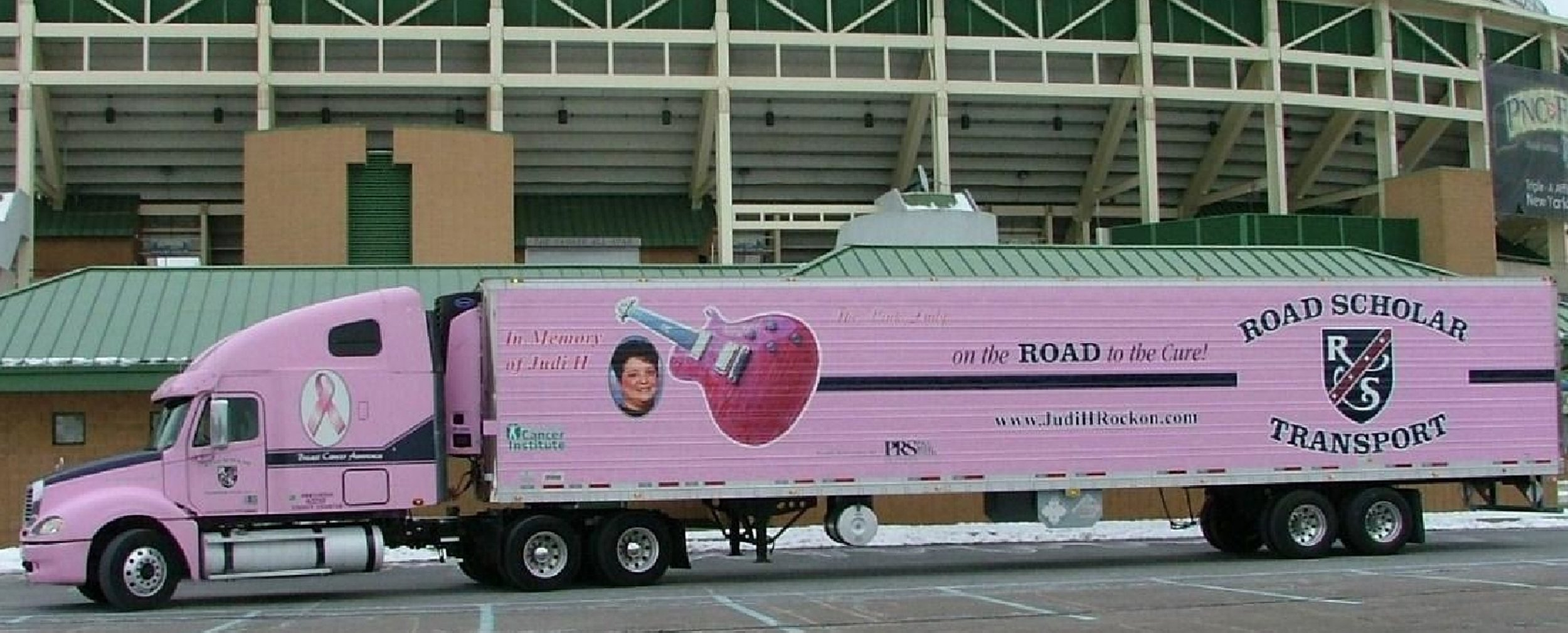 Rock on Judi H Awareness Truck