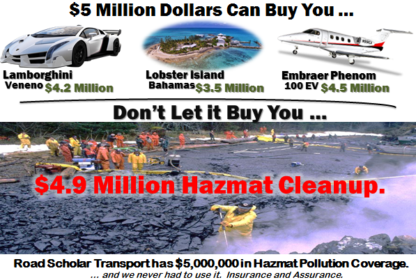 5 Million Dollars in Pollution Coverage