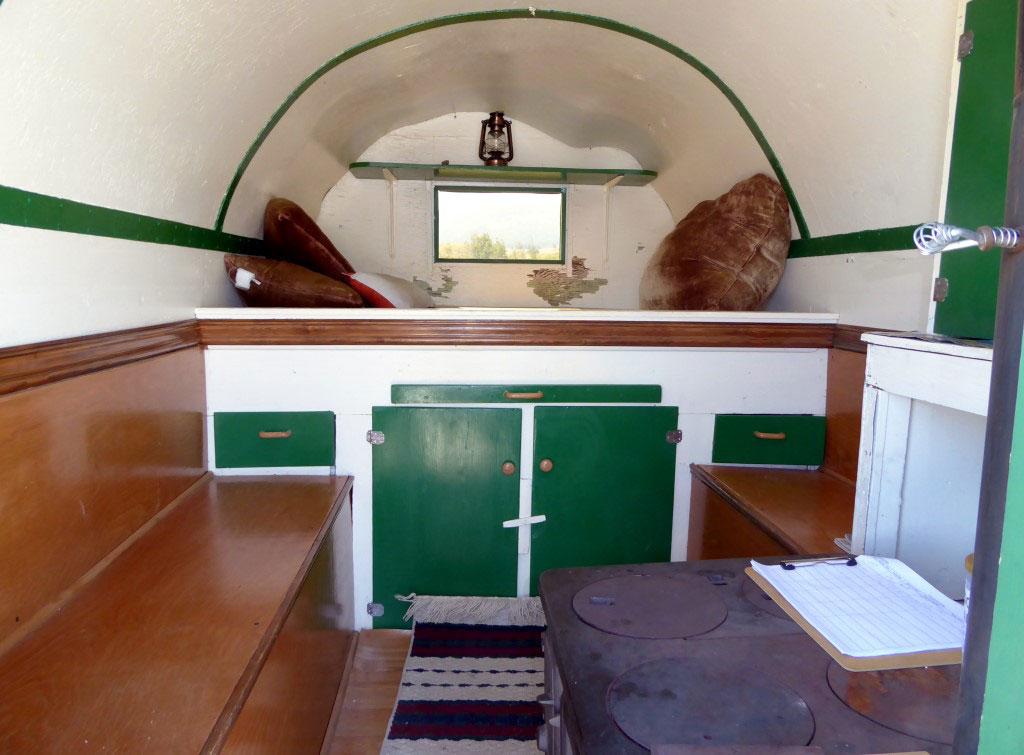 SHEPHERD'S WAGON interior
