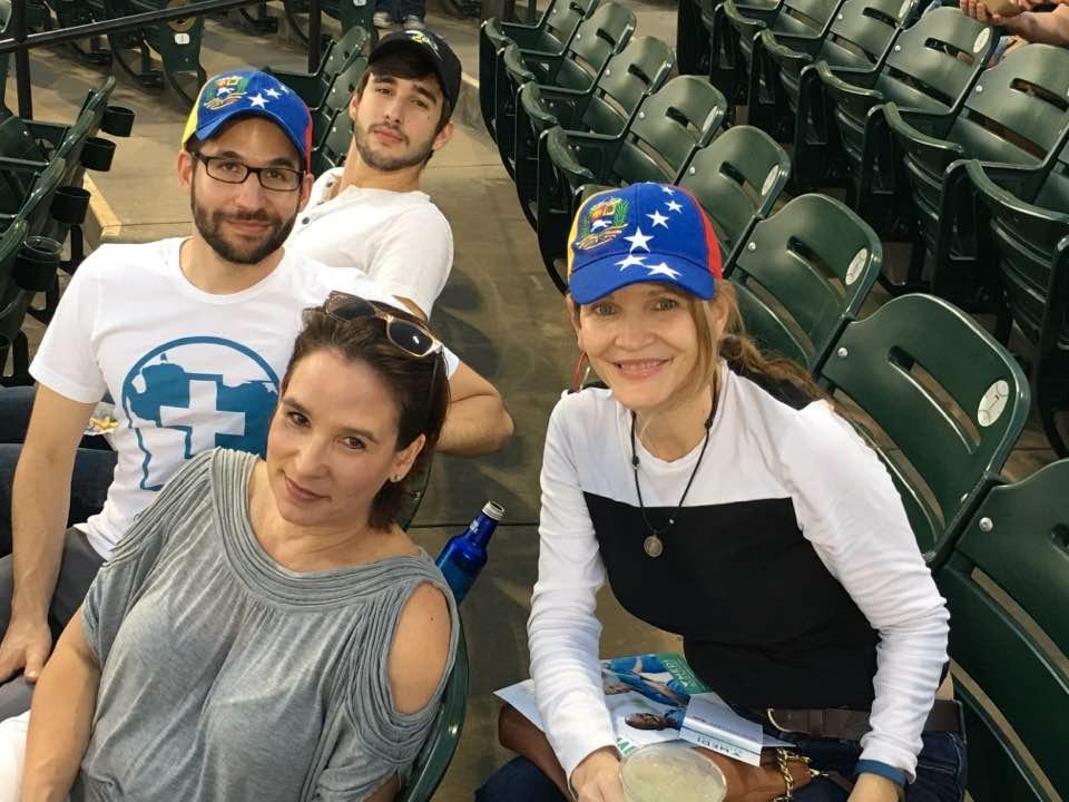 Venezuela Night with the Skeeters - We partnered with the Sugar Land Skeeters baseball team to invite others to enjoy both Venezuela's and the USA's favorite pastime on a Friday night. Not only that, we received 50% of the ticket sales for humanitarian aid in Venezuela!
