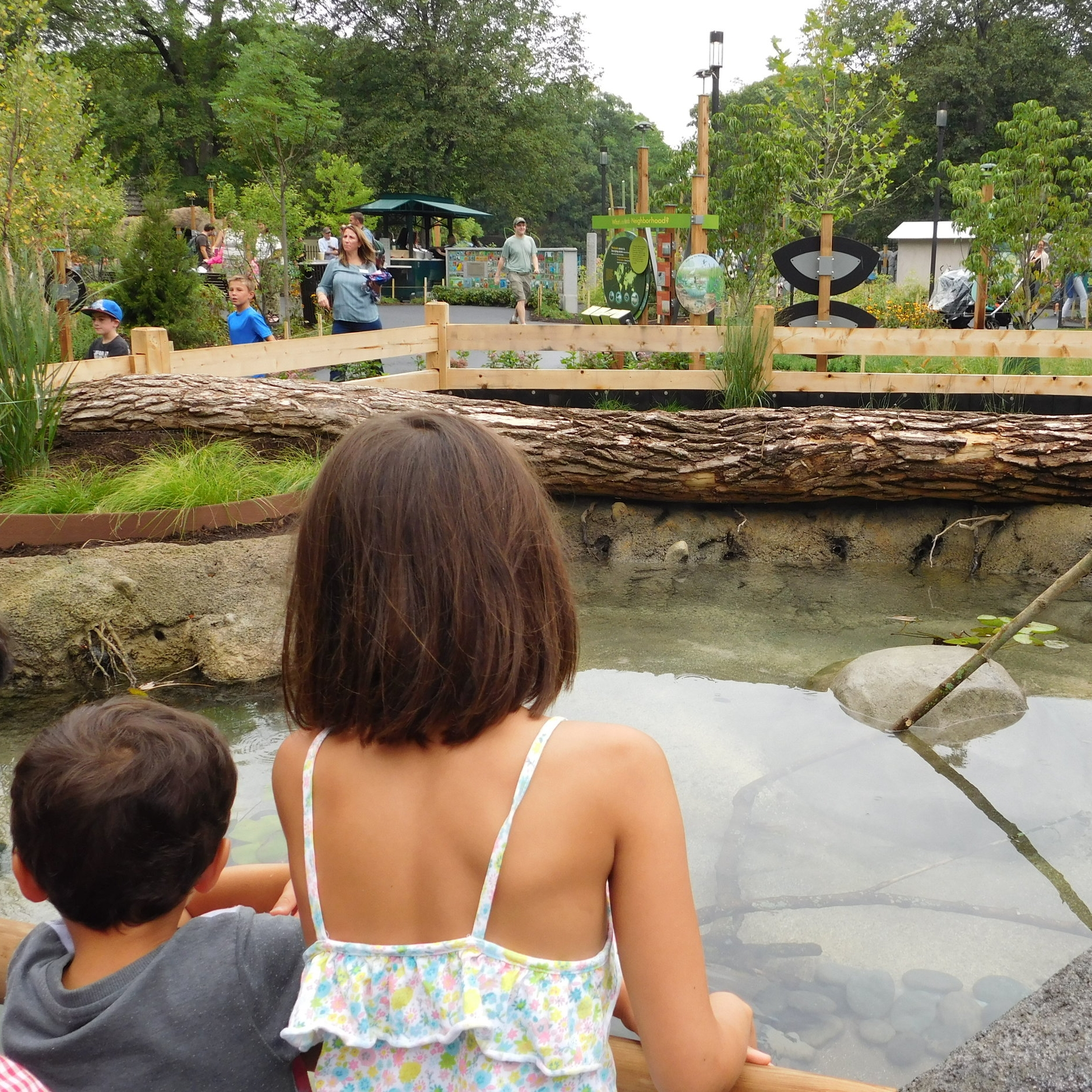 A new approach to a children's zoo: habitats for animals alongside experiential play for children
