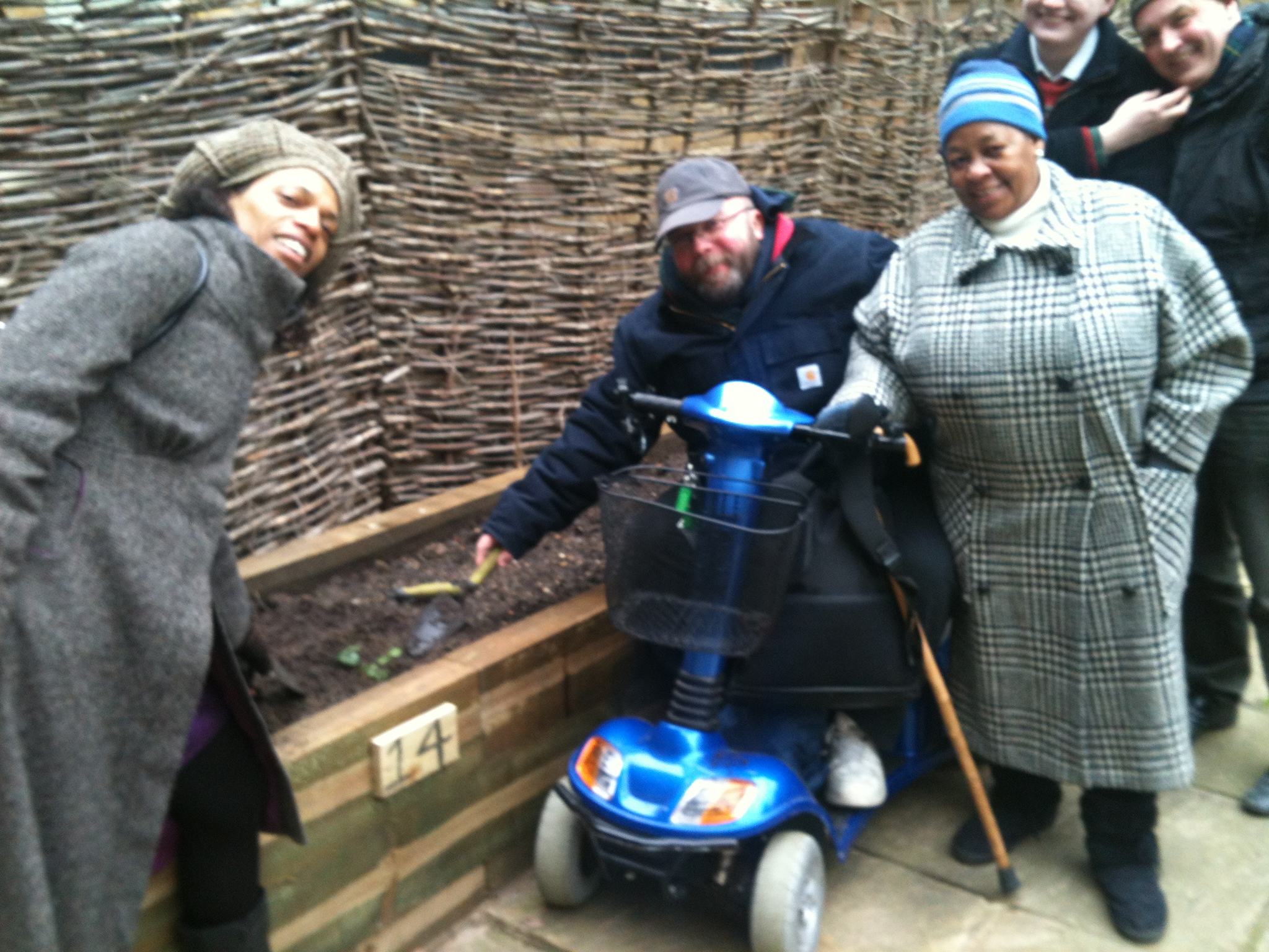 Pilot community growing project with NHS