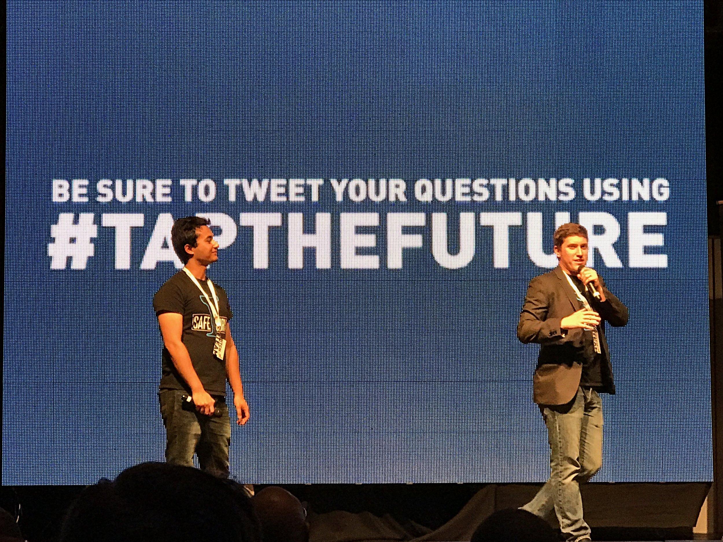The SafeSurv Co-Founders - Shritesh Bhattarai (Left) and Charlie Jordan (Right)
