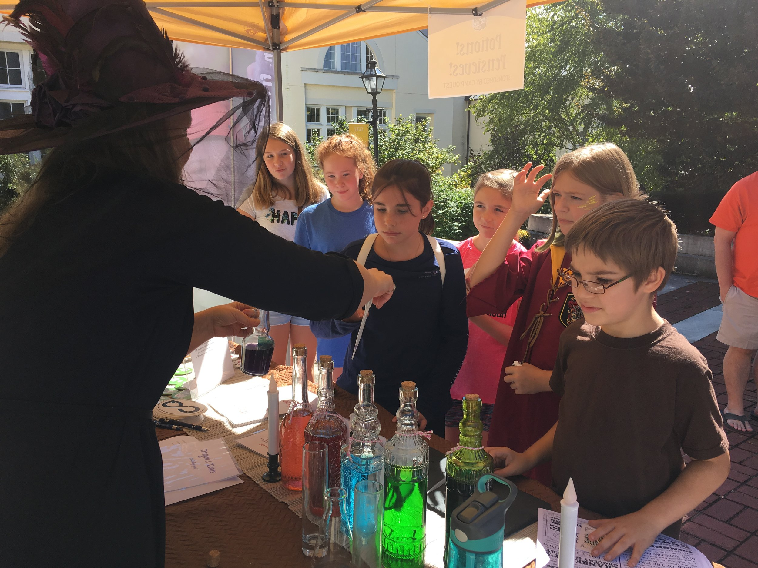 "Demonstration of ""The Magical Potion pH Experiment""!"