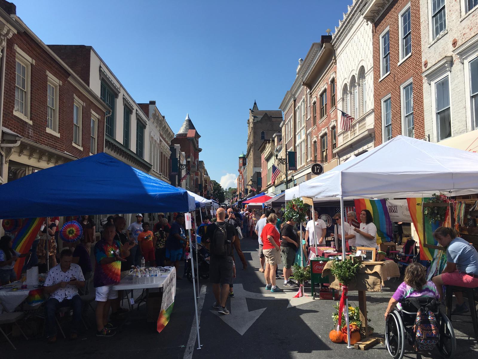Staunton Pride 2018 - Beverley Street, Staunton, VA