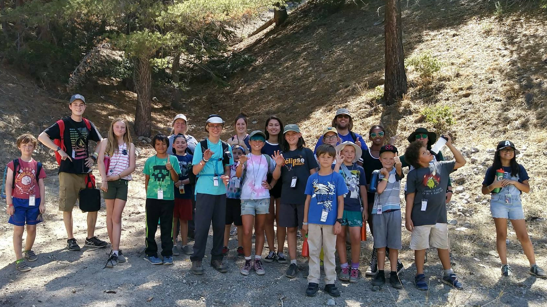 Happy Campers! Photo by Camp Quest West staff.