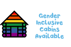 This icon indicates camps that offer gender inclusive cabins in addition to traditional single-gender cabins.