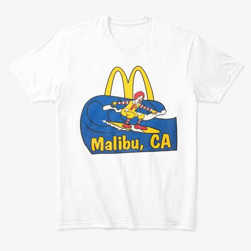 df83924db936 McDonald's Malibu California T-Shirt — Andyland Radio with Andrew Willis