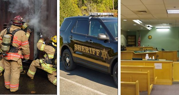 • We believe funding is essential for public safety services, including police, the courts, fire, and emergency medical response.