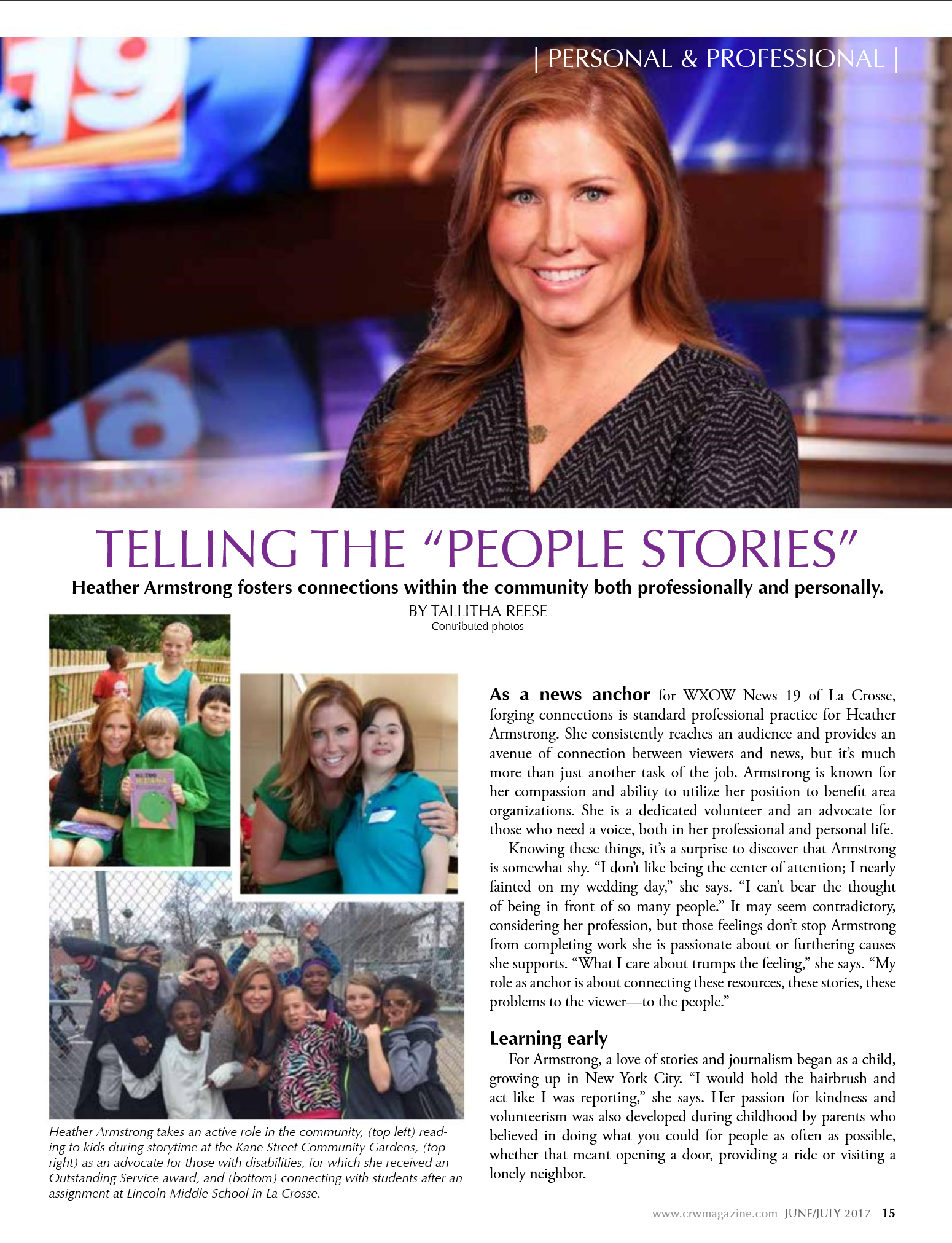 Magazine Article Coulee Region Women