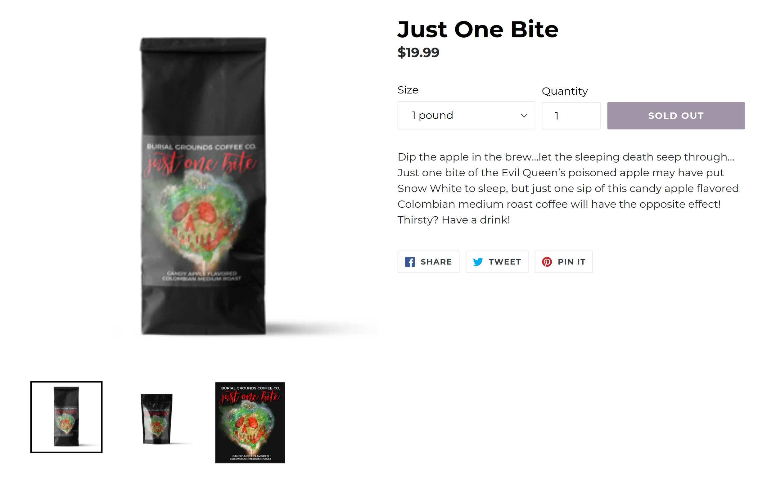Product Description Burial Grounds Coffee Co.