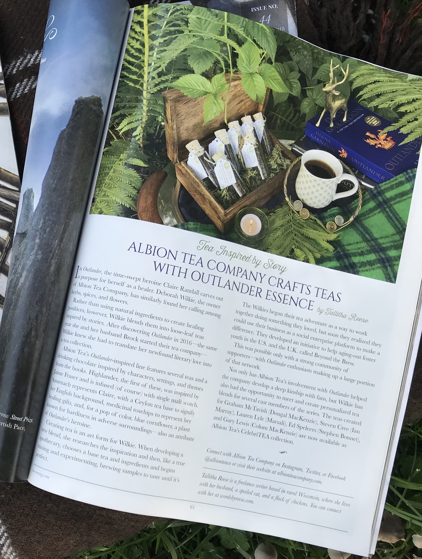 Magazine Article Faerie Magazine (Now Enchanted Living)