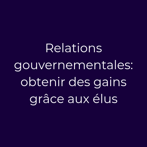 Formation-lobbying-relations-gouvernementales