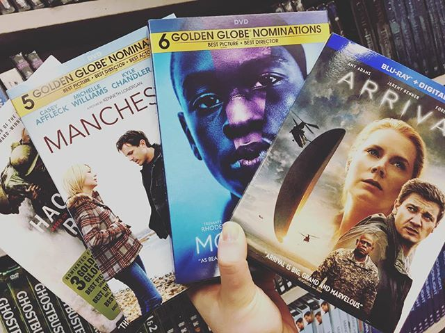 What's on your list? 🏆🏆🏆 #Oscars #OscarMovies #Moonlight #ShopLocal #ShopSmall #TheSoundGarden #Baltimore