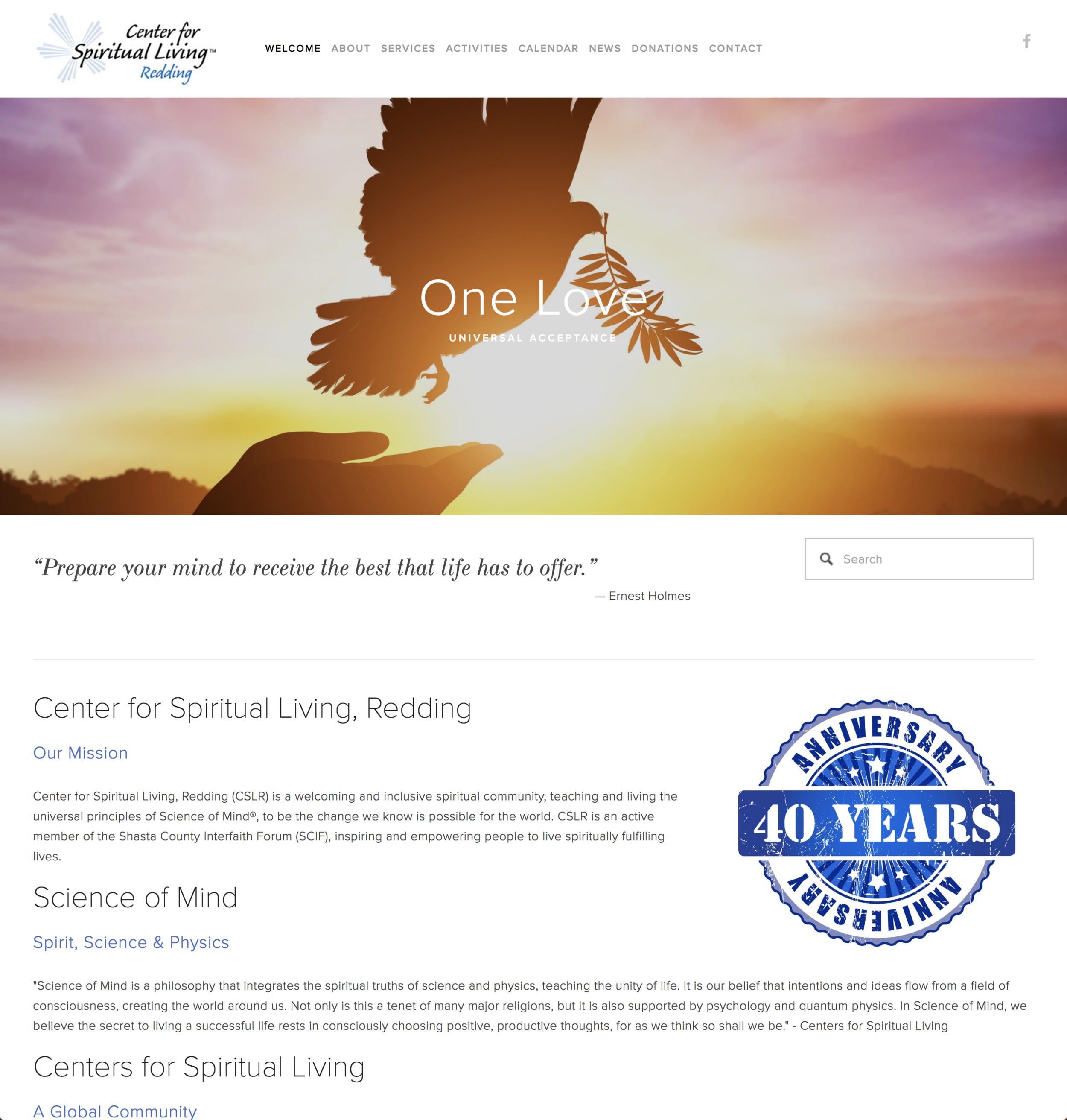 Center for Spiritual Living Redding