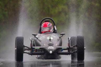 WINNER:  Jeanne Phelan - Formula Vee in the rain at VIR.