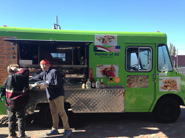 Mother of All's new food truck.
