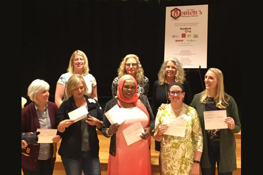Chef Kaltum at Women's Entrepreneurial Conference April 17, 2018.