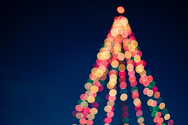 Christmas Lights photo by Tim Mossholder on Unsplash