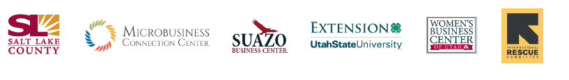 The 2019 Food Entrepreneur Round Table is sponsored by: Salt Lake County, The Micorbusiness Connection Center, The Suazo Business Center, Utah State University Extension, The Women's Business Center at The Salt Lake Chamber, International Rescue Committee and Spice Kitchen Incubator. Thank you to all sponsors for making this event possible!