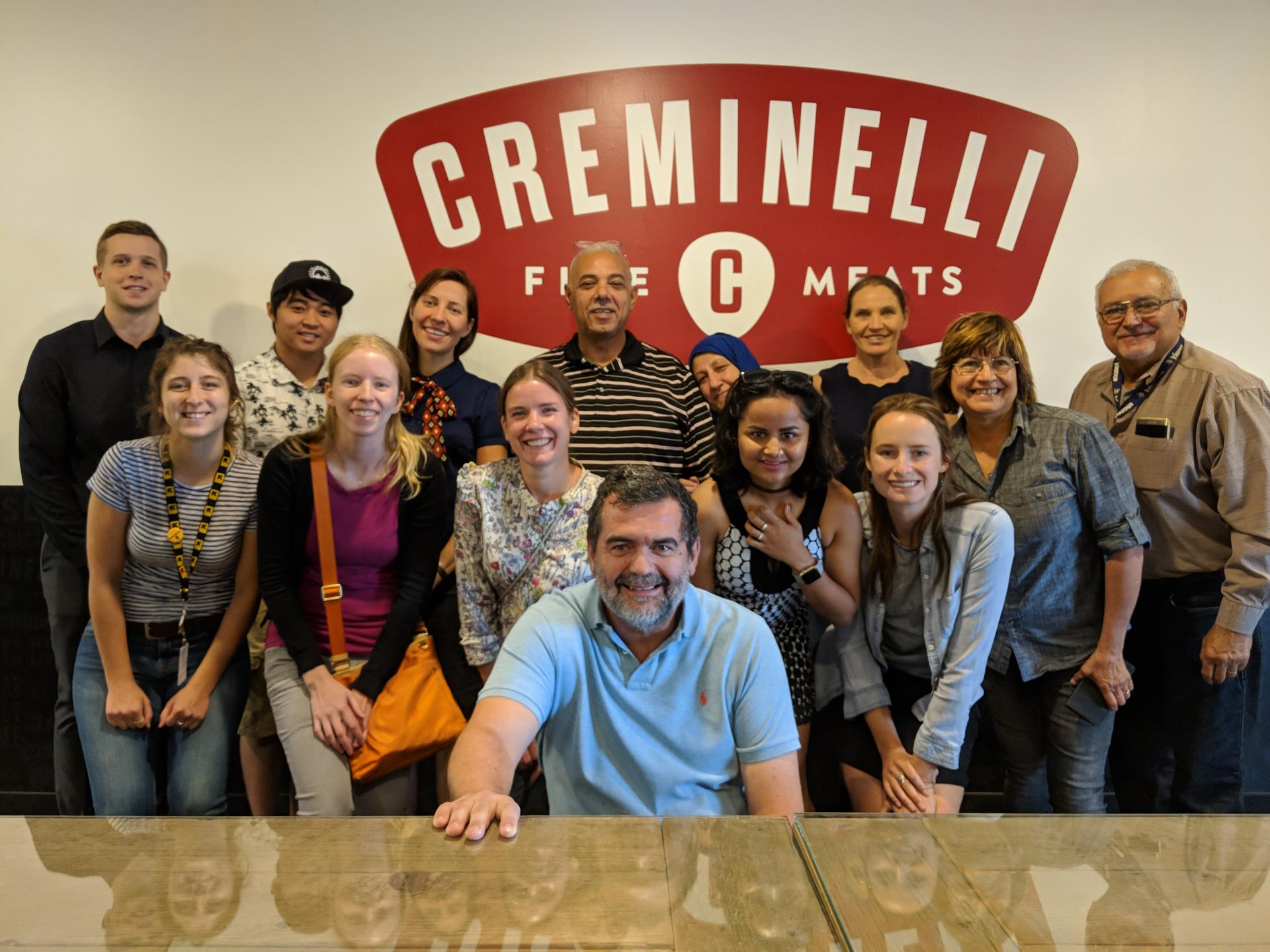 Spice entrepreneurs and staff participated in engaging in workshops tailored to the needs of refugee and new American entrepreneurs. Creminelli Fine Meats works to ensure refugees are not only welcome but also successful in our community.  Photo: Jackie Rodabaugh/IRC