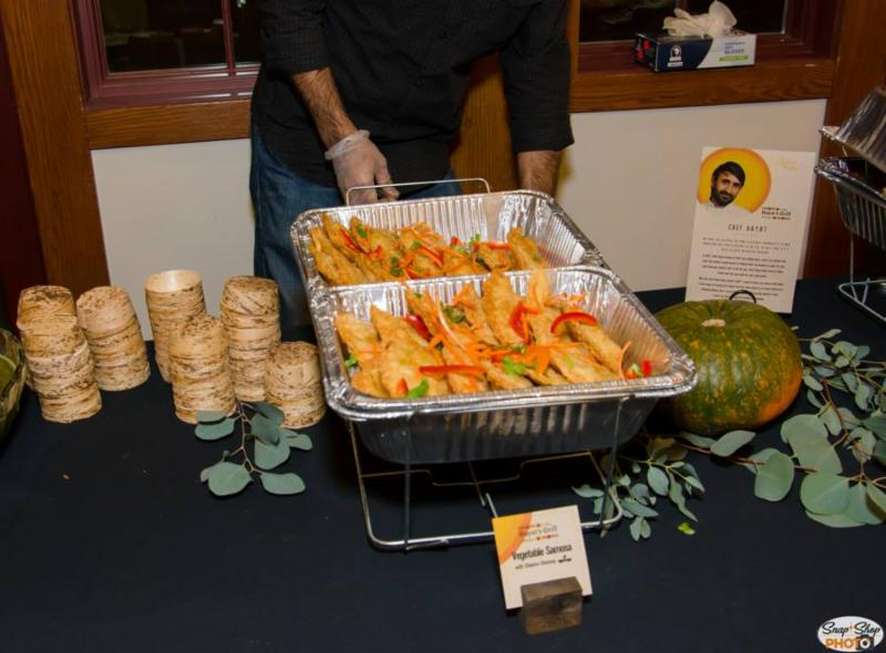 Hayat's Grill provided sambusa at last fall's annual Breaking Bread event.