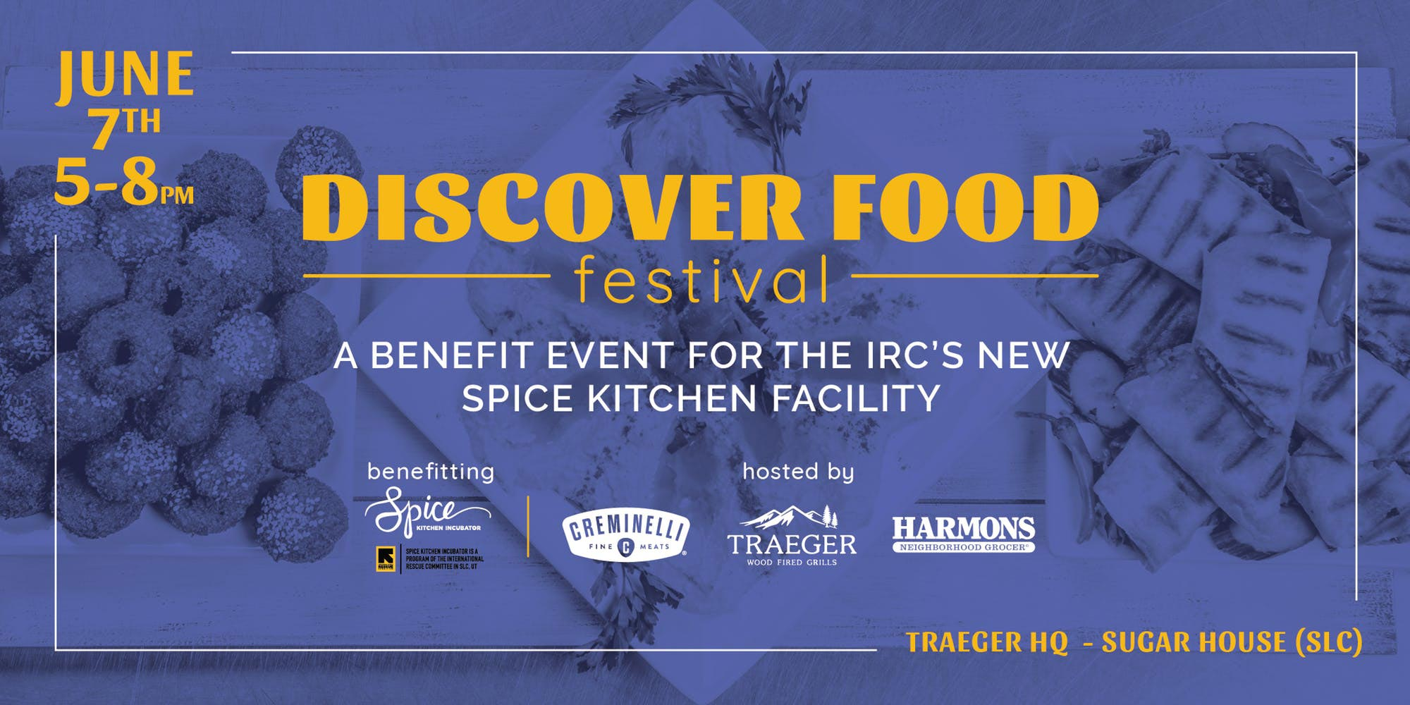 Discover Food Festival - Banner