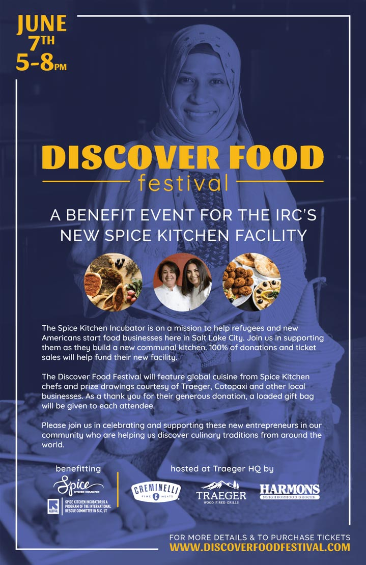 Discover Food Festival - Poster