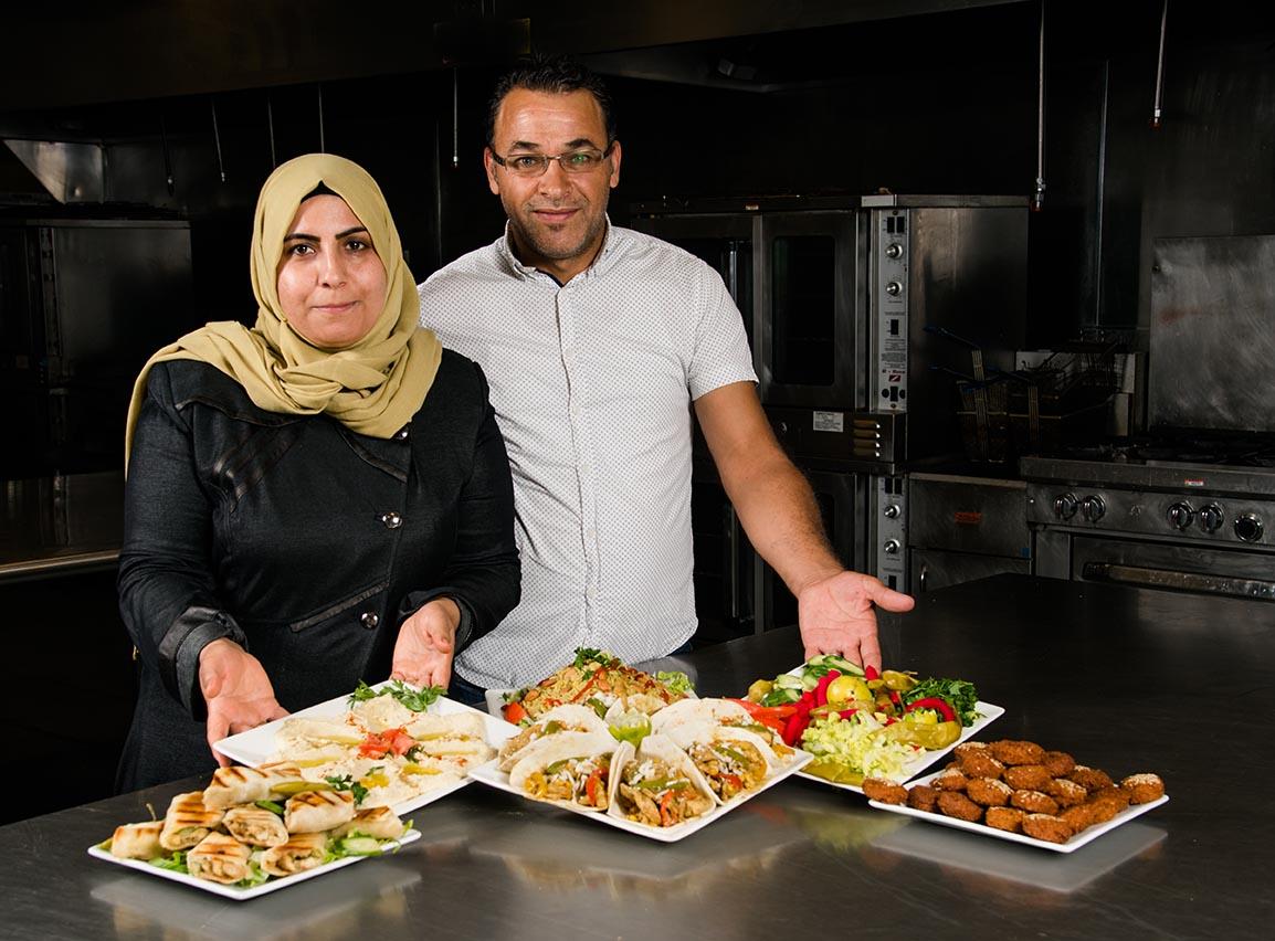 Chefs Rowiya & Ibrahim