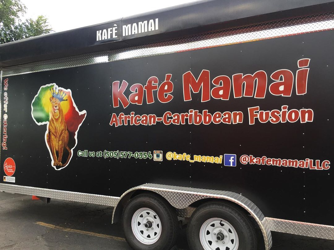 Kafe Mamai's new food trailer