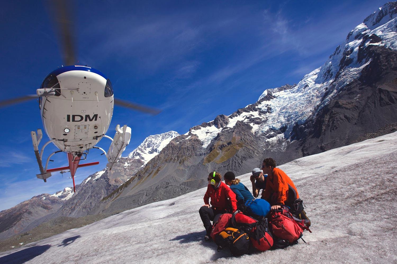 Tasman Glacier Ice Trek