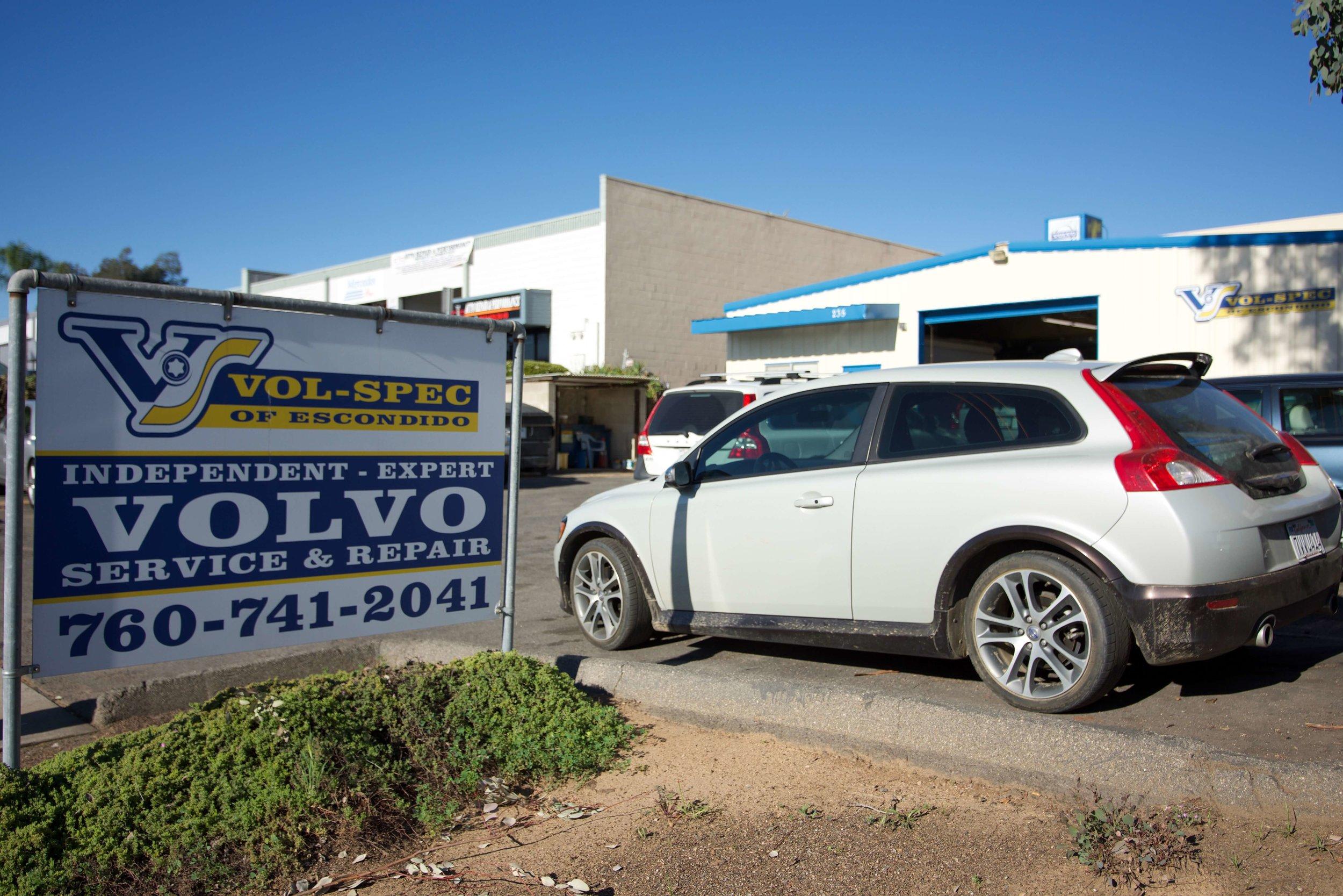 Volvo Repair Shop Escondido