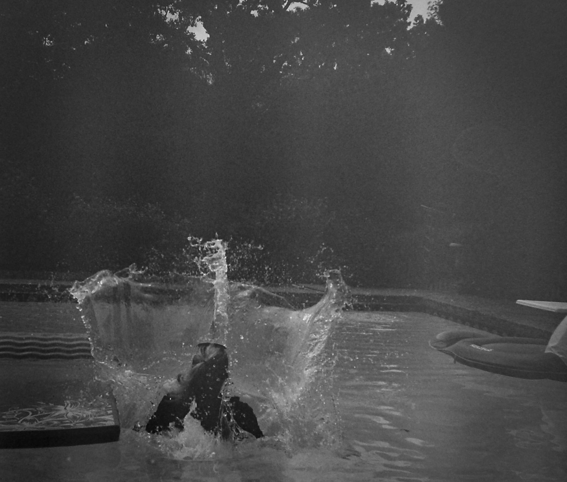 READY OR NOT SPLASH,   2015, digital print numbered, signed, edition of four