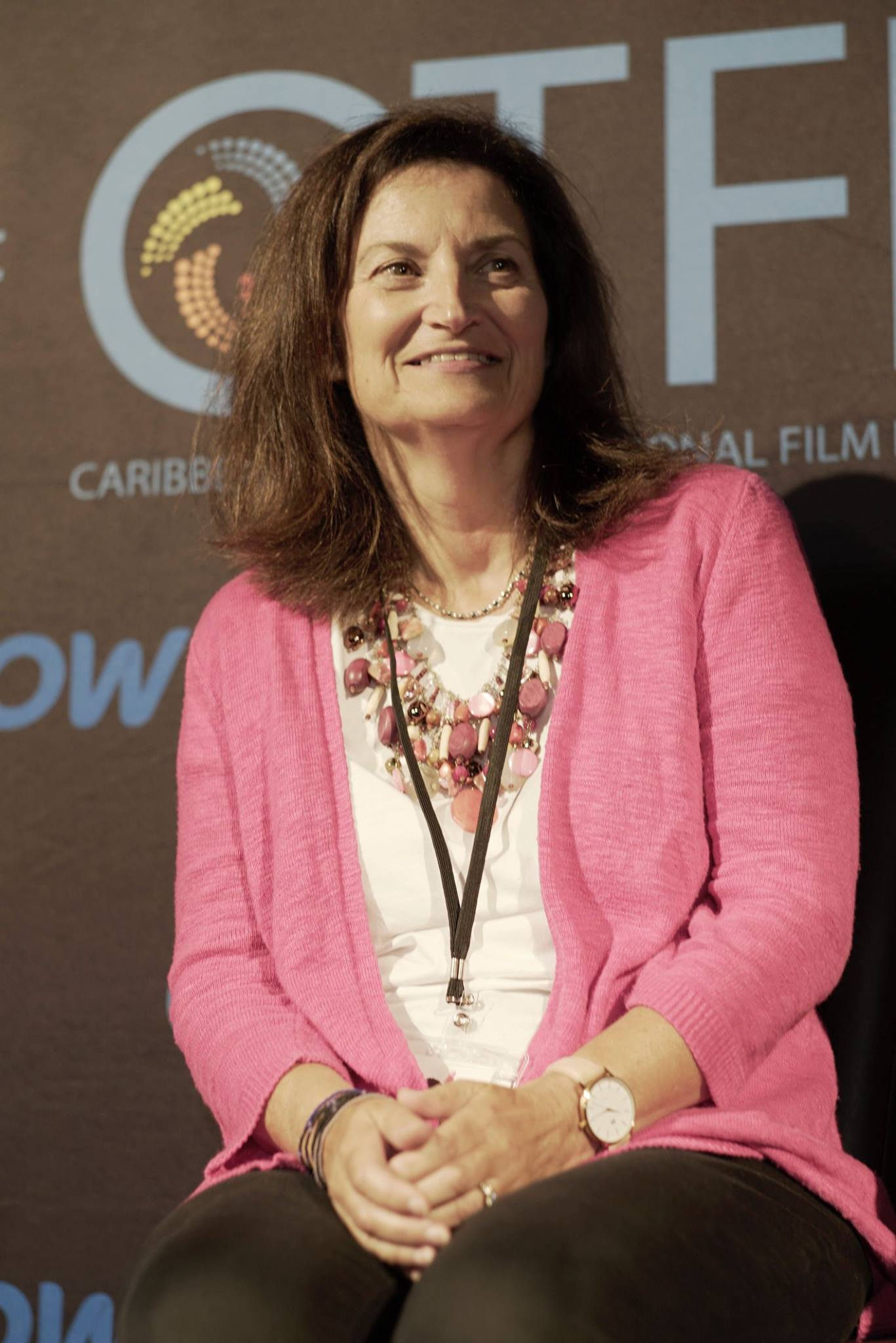 Gayle Wilmot at the Q&A of the Caribbean Tales Film Festival screening