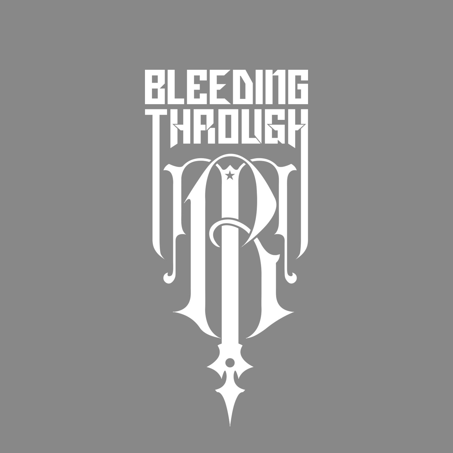 I did the album artwork for Bleeding Through's 'Declaration' album. With that came a new logo design and this monogram.