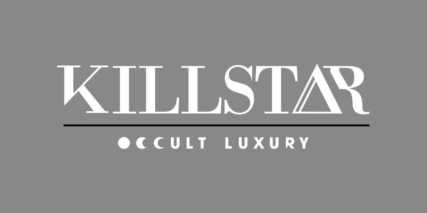 Killstar Clothing is an Occult-based fashion brand playing with some 80's and pop-culture themes.