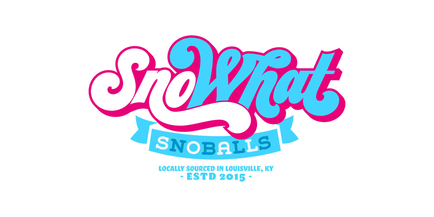 SnoWhat is a company making New Orleans Style Snoballs from their food truck.and they are dedicated to providing gourmet shaved ice to the fine folks of Louisville.