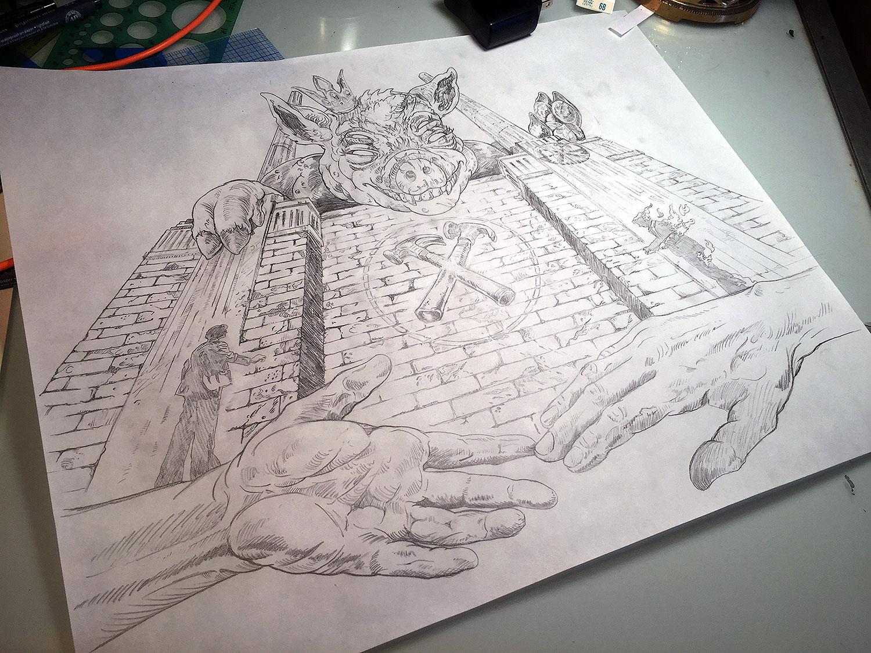 Final pencils