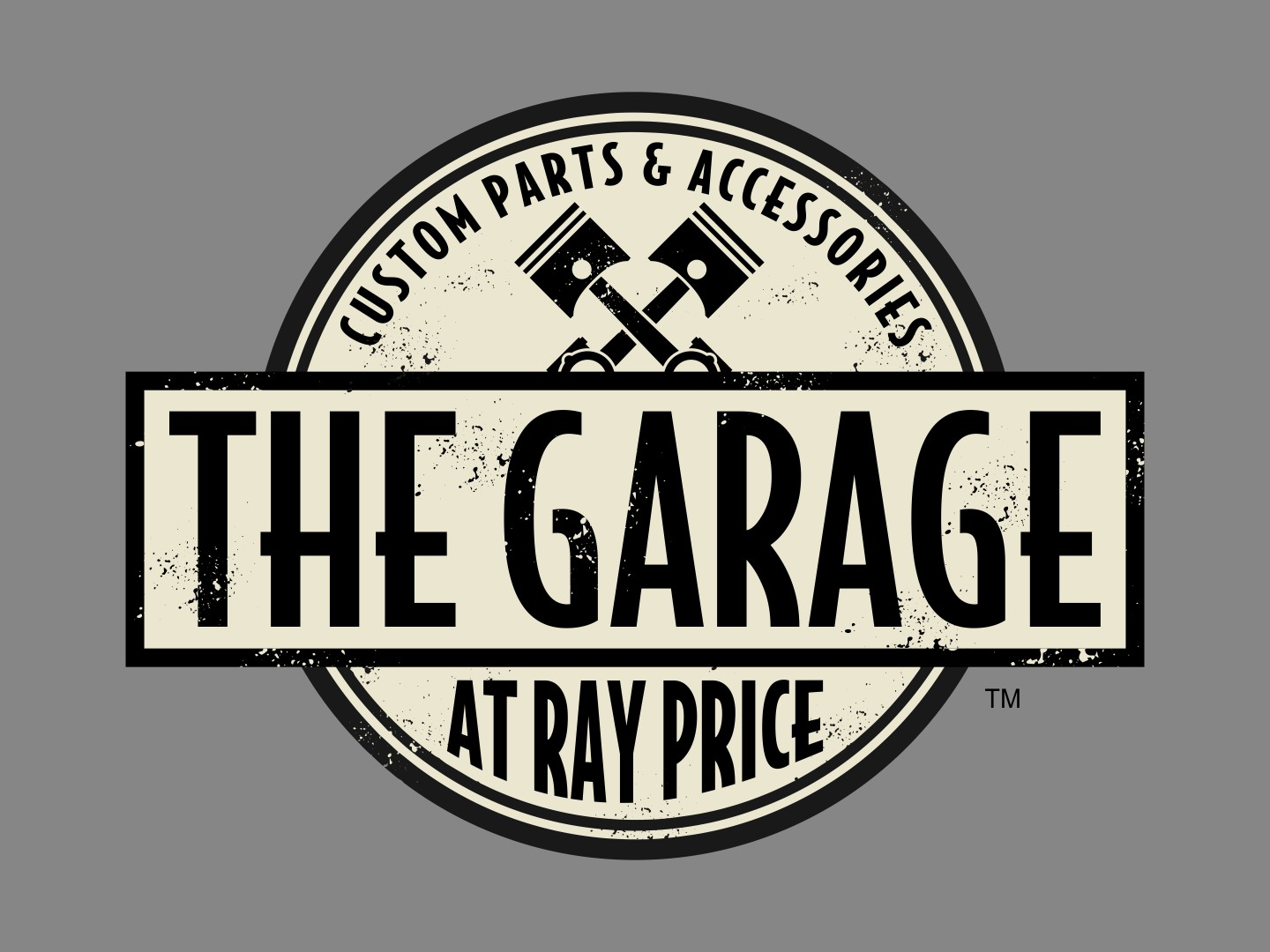 The Garage at Ray Price | Logo Design by Cybergraph
